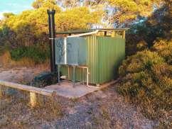 Gleeson's Landing Campground Longdrop