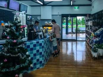 The Shack Cafe Counter - Big4 West Beach Park