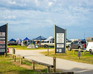 Rapid Bay Campground entrance