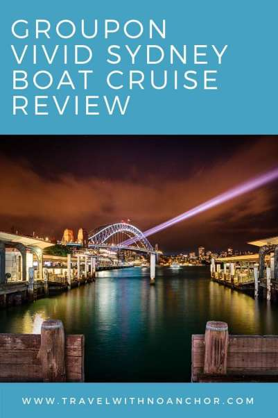 We love finding a good deal through Groupon – we love it so much, we even wrote a post about it. But with this Groupon Vivid Sydney boat cruise deal in 2018, we got it wrong. Very wrong. It's not put us off completely but has certainly made us think again about booking a similar deal. And a big lesson learnt in not reading the reviews beforehand #sydney #nsw #vivid #vividcruise #groupon