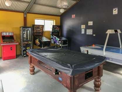Games Room at Big4 Port Willunga