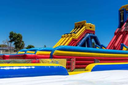 Inflatable Water Park Adelaide - The Big Wedgie Adelaide