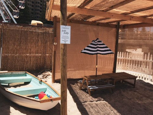 Fun for kids at The Moseley Beach Club Glenelg