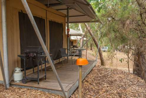 Glamping Adelaide Bel Air Holiday Park
