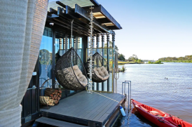 Glamping in the Riverland, South Australia