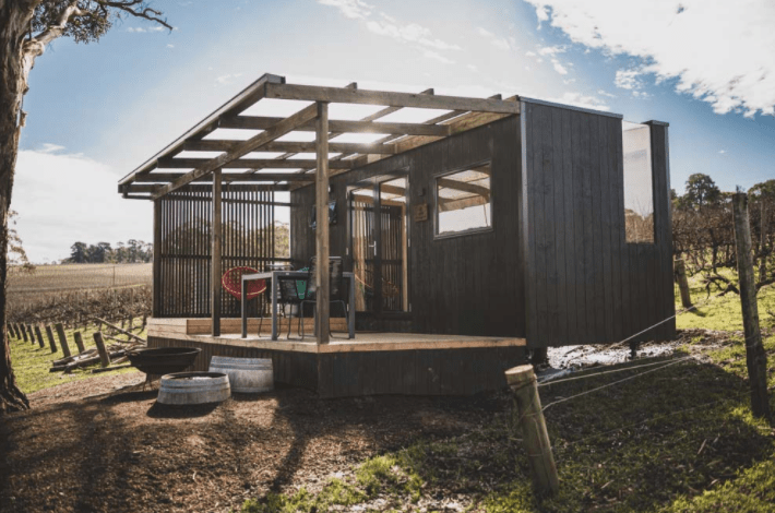 CABN off-grid accommodation Adelaide