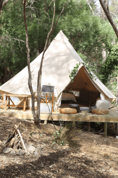 Bushland Bell Tent, Crafers, Adelaide Glamping