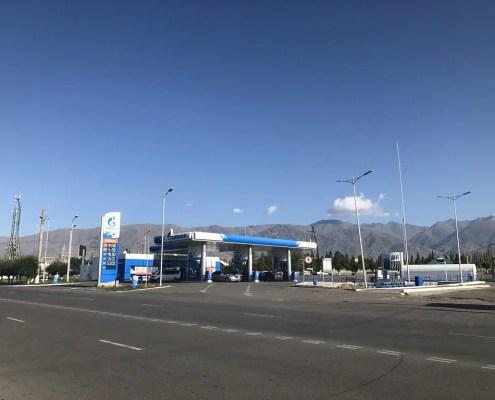 benzinai in Kirghizistan