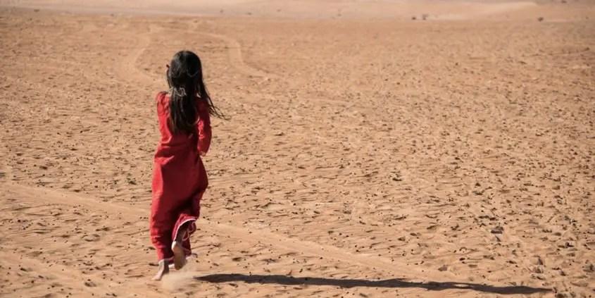 bimba beduina in Oman