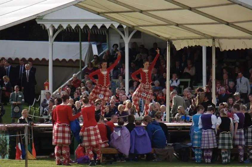 Braemar Gathering gare di danza scozzese