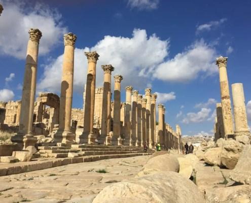 colonne di jerash