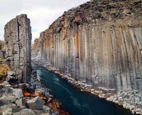 Colonne d'Islanda