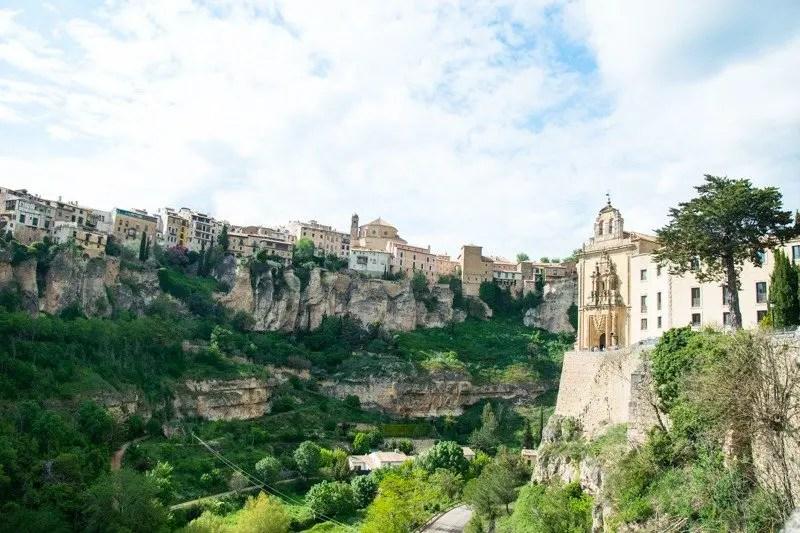 cuenca e il convento di san pablo