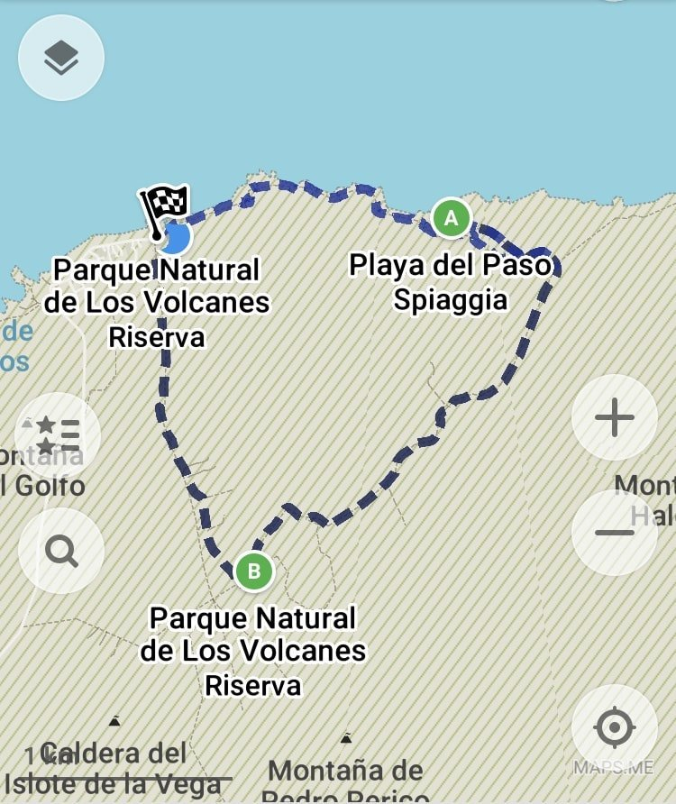 dettaglio Costal Route Lanzarote