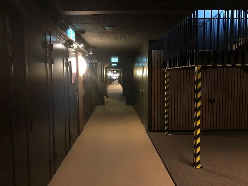 Corridoio con le camere da letto
