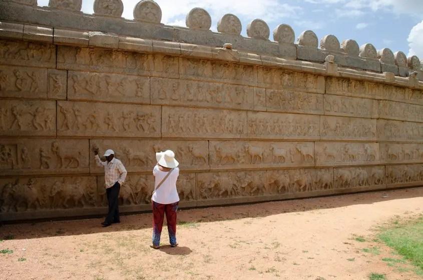 Hampi Tempio Hazara Rama
