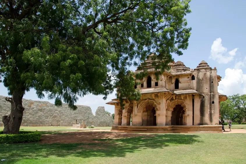 Hampi Tempio Lotus Mahal