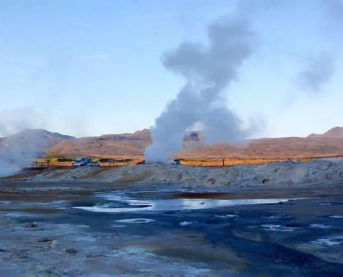 Islanda fumarole
