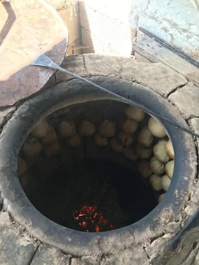 forno per cuocere il samsa