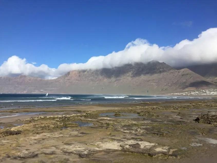 Spiaggia Famara Canarie Lanzarote