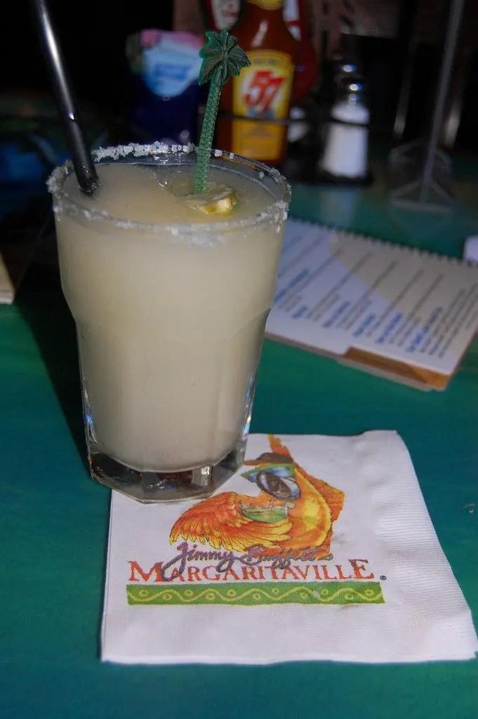 un bel margarita al Margaritaville non poteva mancare