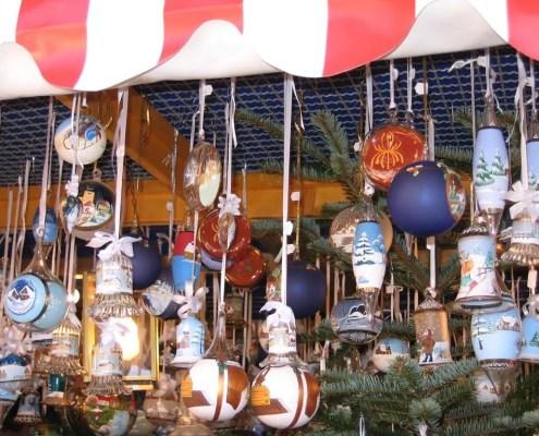 Mercatini di Natale decorazioni