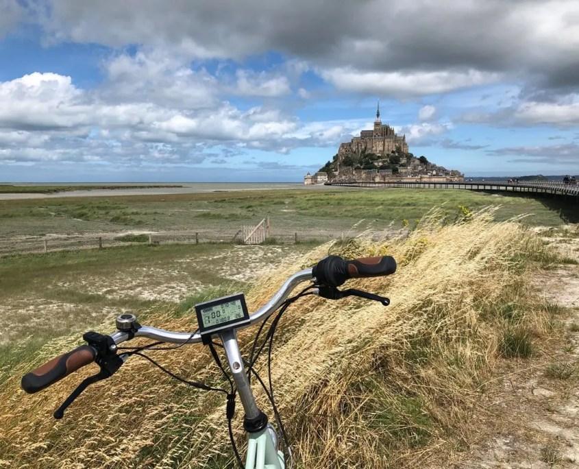 Mont Saint-Michel in bicicletta