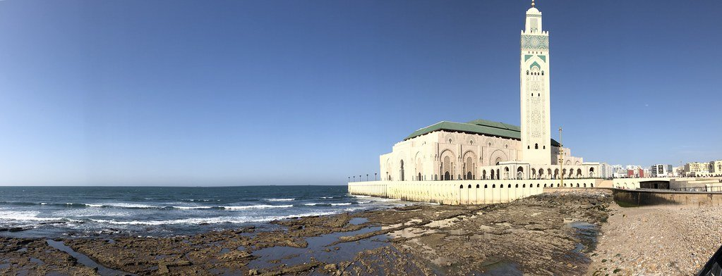 la moschea di casablanca