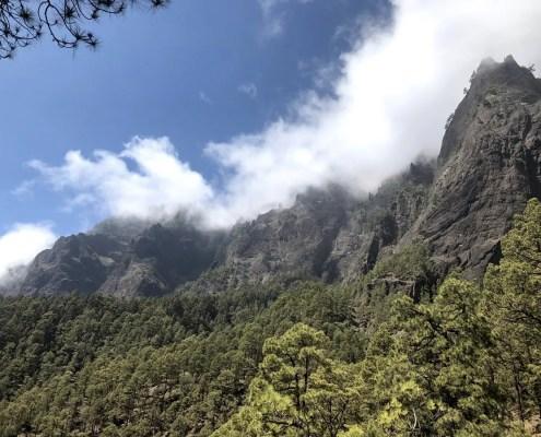 Panorama caldera del Taburiente