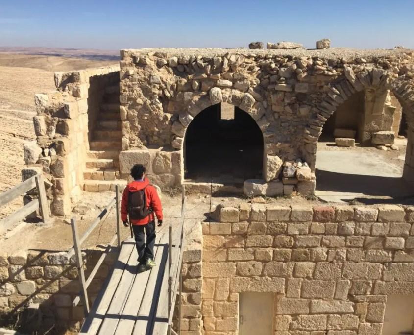 passeggiata nel castello di Shobak