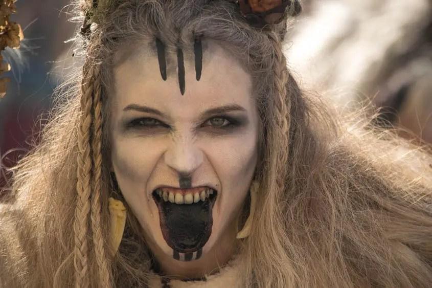 strega del carnevale di Salorno
