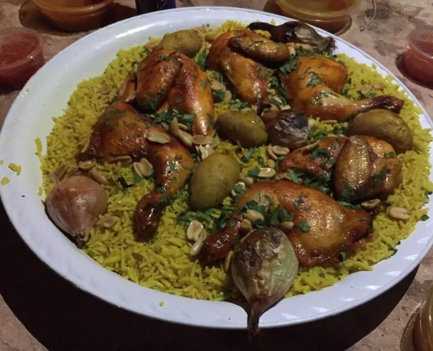 piatto tipico Giordania