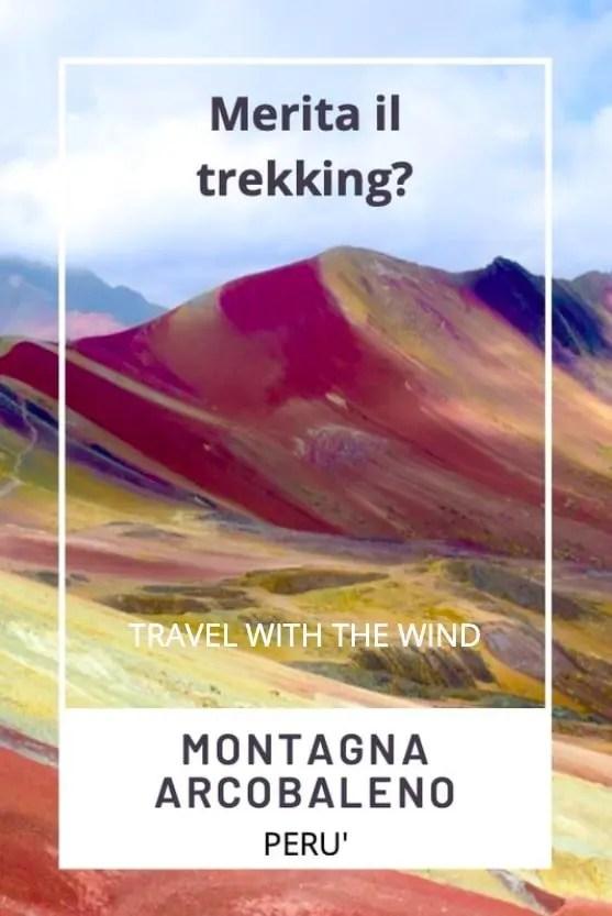 Montagna Arcobaleno in Perù