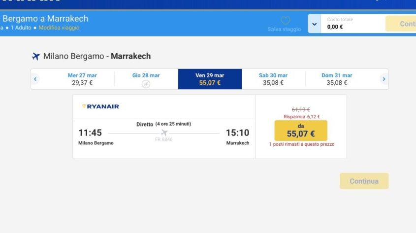 screenshot ryanair 1 persona