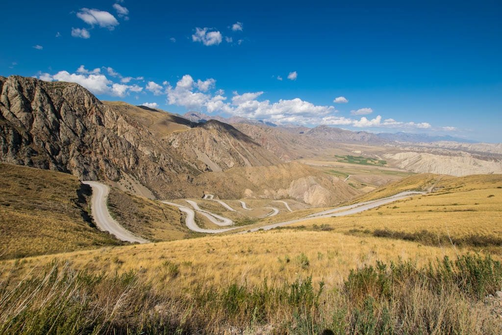 strade sterrate in Kirghizistan