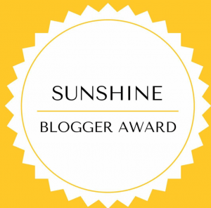 logo sunshine blogger award