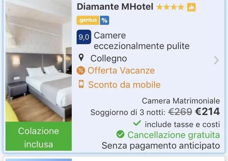risparmiare sulle prenotazioni con tariffa mobile Booking