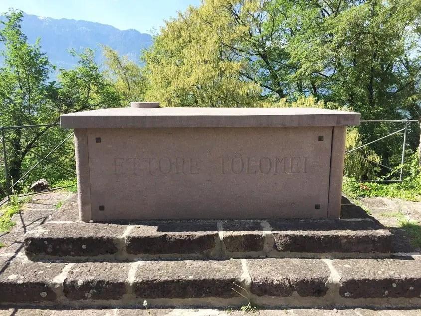 tomba di Ettore Tolomei