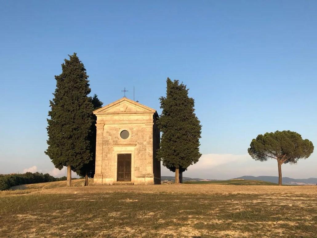 Val d'Orcia Cappella di Vitaleta
