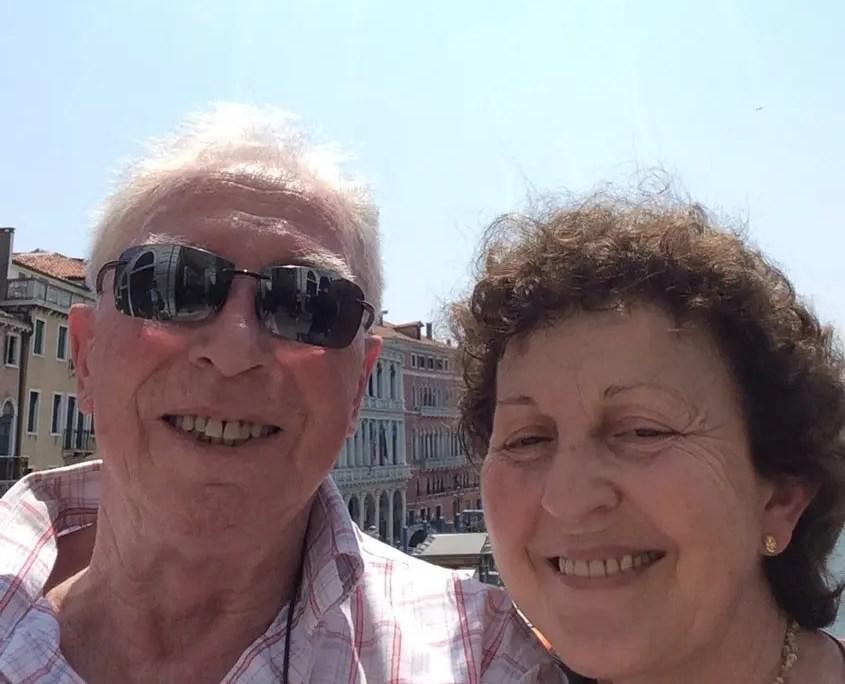 Selfie Gianni e Bruna
