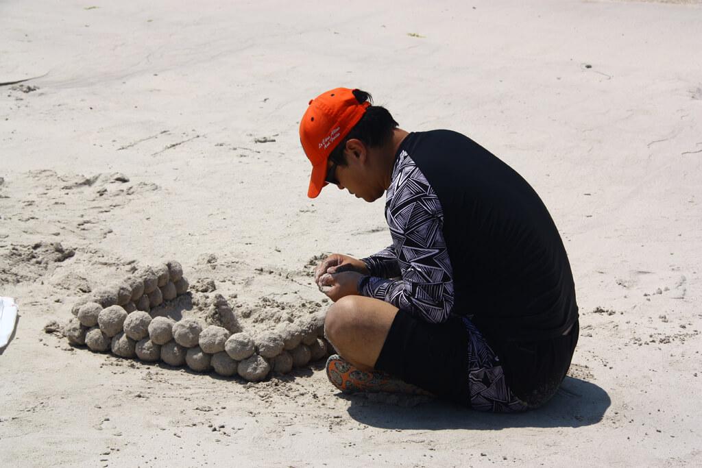 Gimnyeong Beach Sandballs