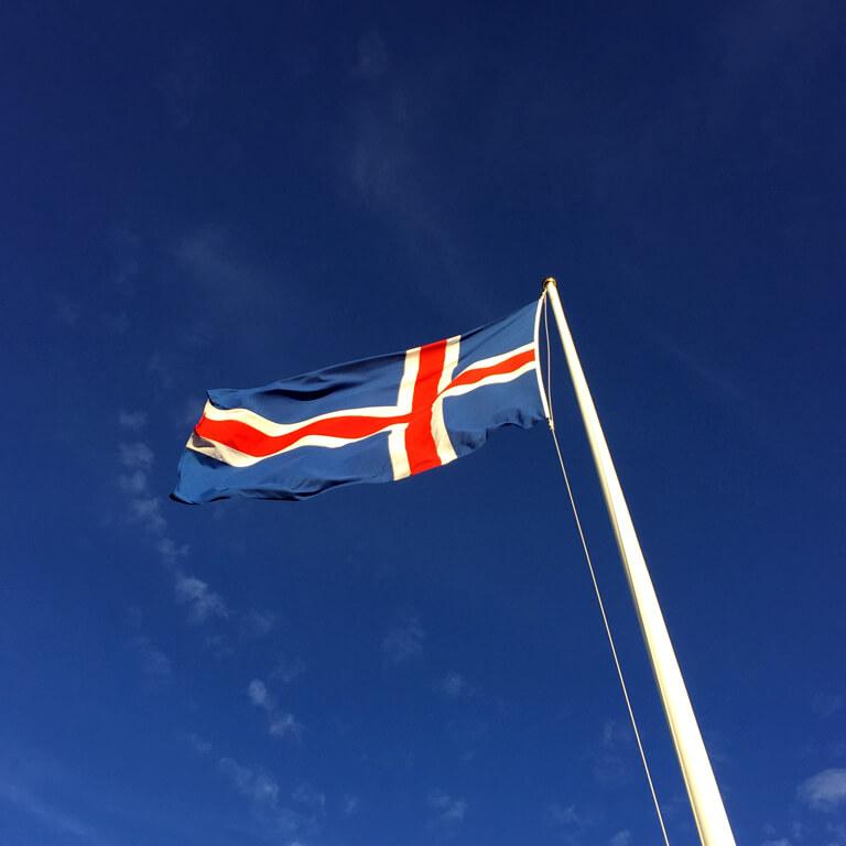Iceland's Flag