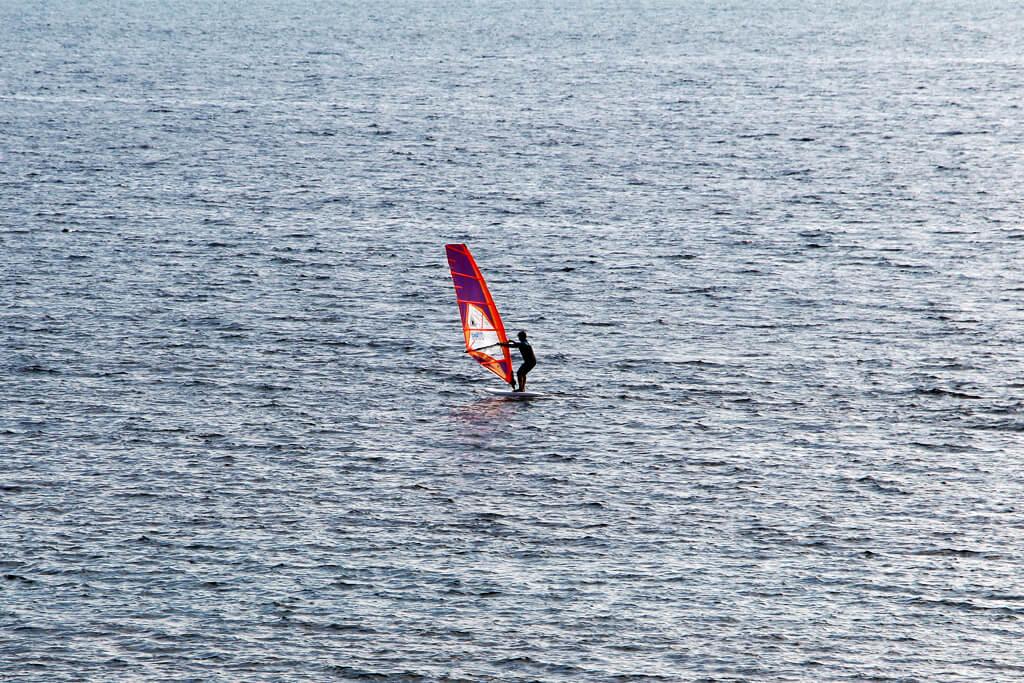 Croatian Wind Surfer