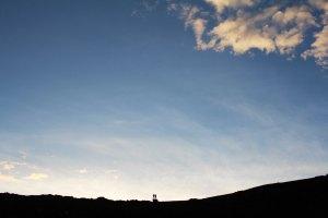 Iceland Skyline Couple Silhouette