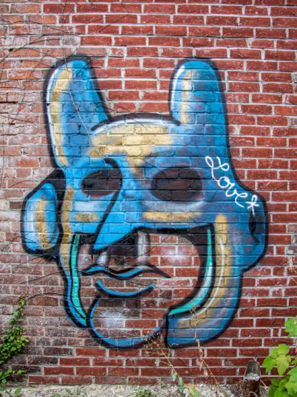 Back Alley Street Art in Downtown Kitchener Gallery
