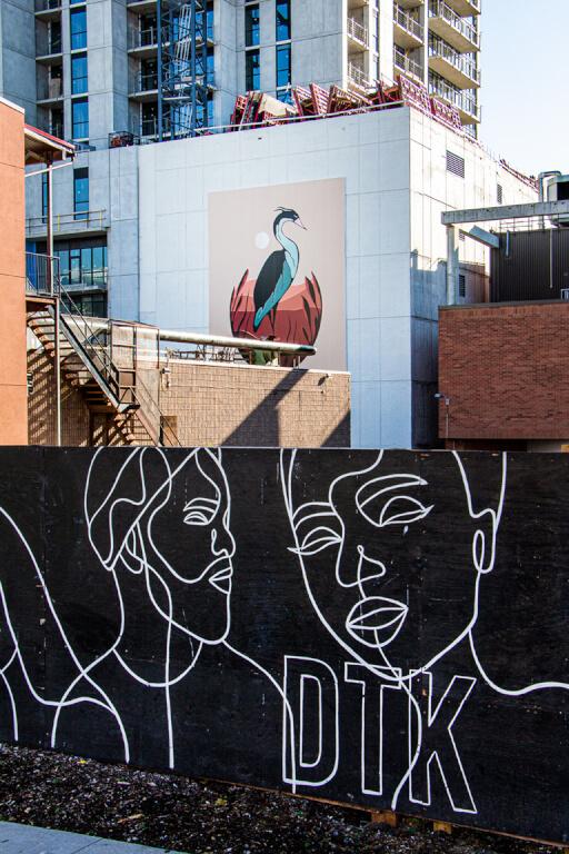 DTKitchener's Trisha Abe and Luke Swinson Art