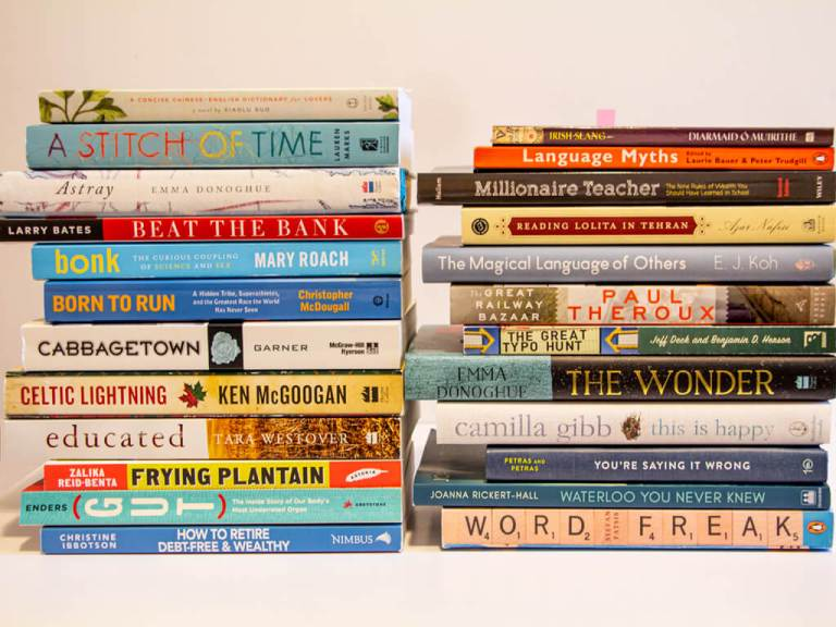 2020's goals review wouldn't be complete without a list of the books I read for the year!