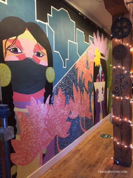 Guide to St Jacobs Murals, EcoCafe