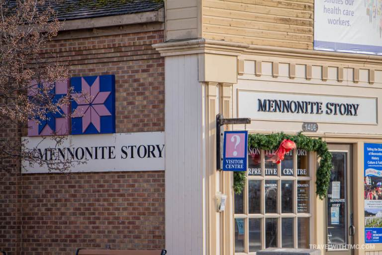 Mennonite Story Visitors Centre in St Jacobs