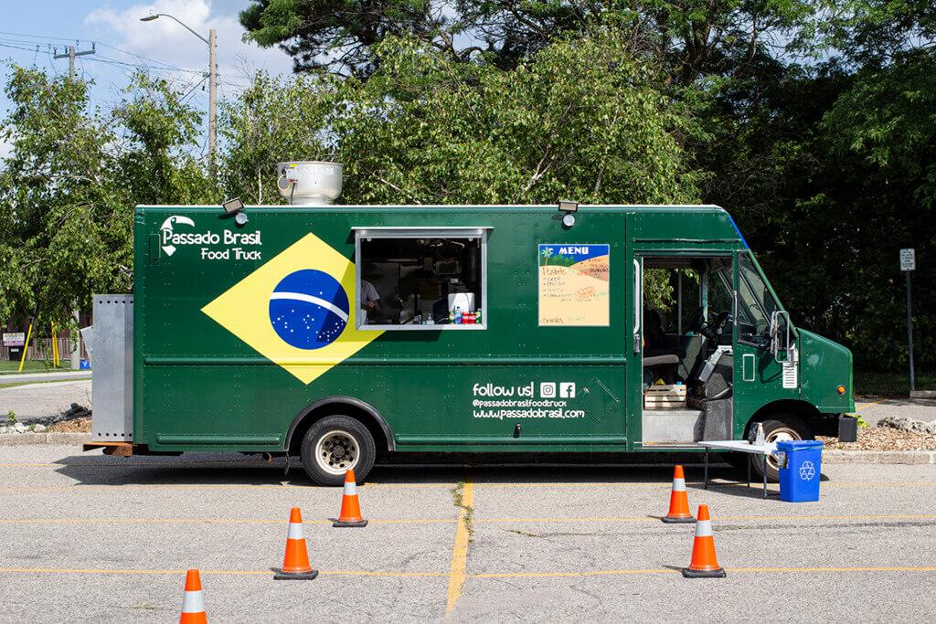 Passado Brasil's Street Food Truck in Waterloo Region